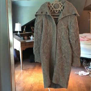 Free people Alpaca sweater jacket